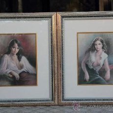 Varios objetos de Arte: BONITA PAREJA DE FIGURAS. Lote 26500597