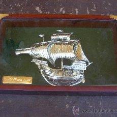 Varios objetos de Arte: CUADRO SANTA MARIA 1492, 28X18 CMS. Lote 26871982