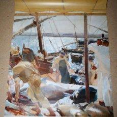 Varios objetos de Arte: POSTER EXPOSICIÓN JOAQUIN SOROLLA MNAC - APROX 42 X 59. Lote 28250895