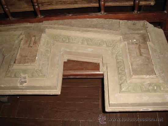 Varios objetos de Arte: cornisa retablo - Foto 2 - 28764067