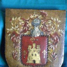 Varios objetos de Arte: ESCUDO HERALDICO FAMILIA APELLIDO BALLESTERO BALLESTEROS SIGUIENDO MODELOS S.XVII. Lote 28835906