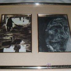 Varios objetos de Arte: ESTAMPAS GALLEGAS ENMARCADAS. Lote 29177928