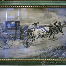 Varios objetos de Arte: CUATRO CUADROS ORIGINALES RAPHOTYPE NUMERADAS DE RAPHAEL TUCK & SONS INGLATERRA ENMARCADAS. Lote 29382147