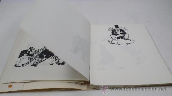 Varios objetos de Arte: Xavier Nogués, 40 barrets de copa, inclou un aiguafort. tiraje 3/14. Año 1983. - Foto 6 - 30077500