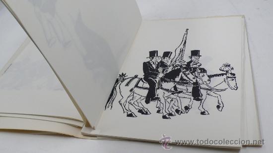 Varios objetos de Arte: Xavier Nogués, 40 barrets de copa, inclou un aiguafort. tiraje 3/14. Año 1983. - Foto 4 - 30077500