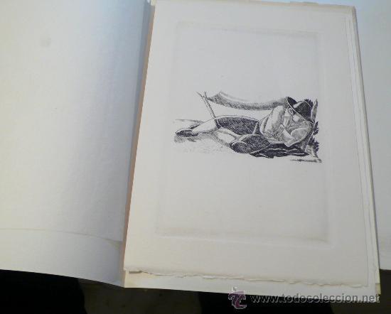 Varios objetos de Arte: Xavier Nogués, 40 barrets de copa, inclou un aiguafort. tiraje 3/14. Año 1983. - Foto 7 - 30077500