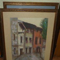 Varios objetos de Arte: PASTEL-FDO CANETE-PAISAJE URBANO. Lote 30147642