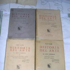 Varios objetos de Arte: HISTORIA DEL ARTE (4 TOMOS) . Lote 30156921