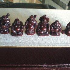 Varios objetos de Arte: 6 FIGURAS DE BUDA. Lote 30254505