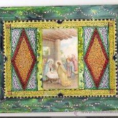 Varios objetos de Arte: FELICITACION DE NAVIDAD - PINTADO A MANO - PINTOR JOSE NOGUERA - VILASSAR DE DALT. Lote 30350051