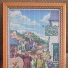 Varios objetos de Arte: CUADRO DE MADERA. Lote 30839810