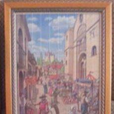 Varios objetos de Arte: CUADRO DE MADERA. Lote 30839813