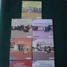 Varios objetos de Arte: LOTE DE 7 CD ROM GRANDES TESOROS DEL ARTE MUNDIAL. Lote 32201926