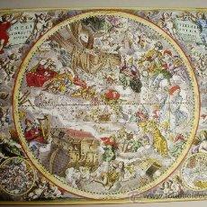 Varios objetos de Arte: 1708-ATLAS COELISTIS. ANDREAS CELLARIUS.REPRODUCCIÓN. Lote 32652016