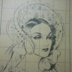 Varios objetos de Arte: LAMINA DIBUJO SUC,MESEGUER. Lote 32666100