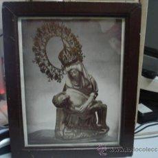 Varios objetos de Arte: ANTIGUO CUADRO CON MARCO MADERA. Lote 33456685