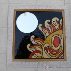 Varios objetos de Arte: TECNICA DE PINTURA SOBRE AZULEJO.CUERDA SECA. 2 DISEÑOS. Lote 33575699