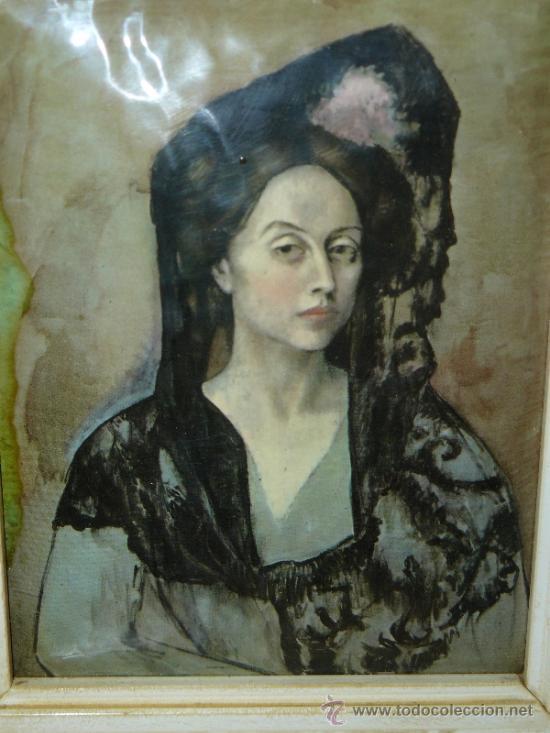 Varios objetos de Arte: ESMALTE - DAMA - PABLO PICASSO - Foto 2 - 33660257