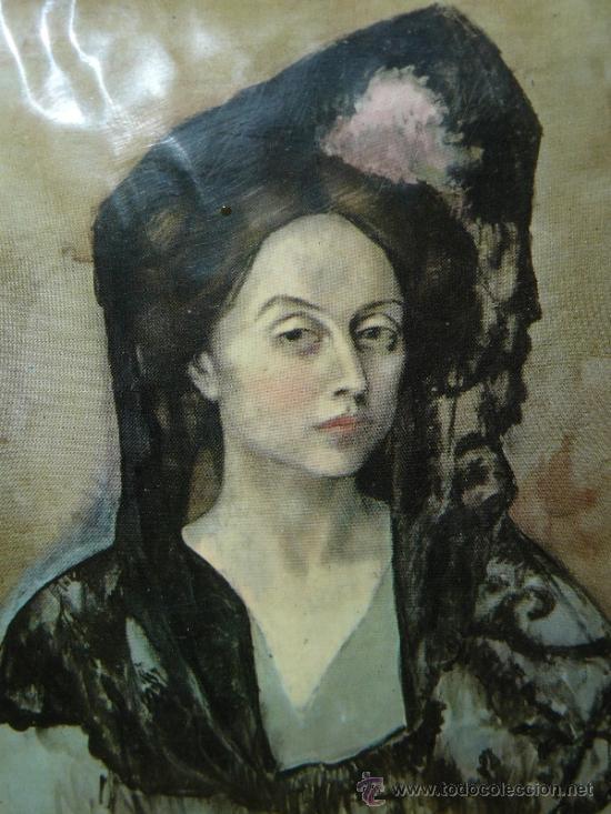 Varios objetos de Arte: ESMALTE - DAMA - PABLO PICASSO - Foto 3 - 33660257