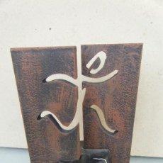Varios objetos de Arte: ESCULTURA. HERRI KROSA.. Lote 33874467