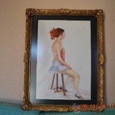 Varios objetos de Arte: ROSA ROVIRA PRECIOSO CUADRO ENMARCADO. Lote 34250354