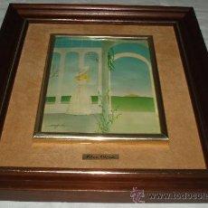 Varios objetos de Arte: ESMALTE ENMARCADO ELENA OLIVERA. Lote 34366244