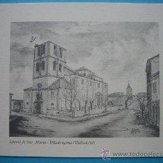Varios objetos de Arte: VILLABRAJIMA VALLADOLID IGLESIA DE SANTA MARIA VER DESCRIPCION. Lote 34409340