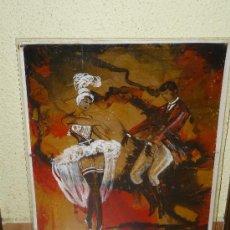 Varios objetos de Arte: LA RAMBLA. BALLET CATALÁ. ORIGINAL DE JOAN VALLS VOLART Y ROS MARBA. Lote 34926015