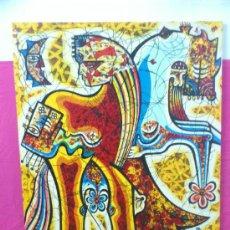 Varios objetos de Arte: PINTURA ESTILO FIGURATIVO FIRMADO R. GARCIA, SIN CUADRO ... ALFJ.. Lote 35066411