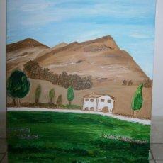 Varios objetos de Arte: CUADRO LA MASIA DE ANNE FAIRLIE. ACRÍLICO SOBRE LIENZO.. Lote 35306720