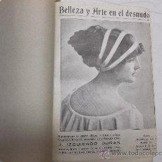 Varios objetos de Arte: BELLEZA Y ARTE EN EL DESNUDO. REPRODUCCIONES DE CUADROS, FOTOGRAFÍAS ...POR IZQUIERDO DURÁN.. Lote 35573526
