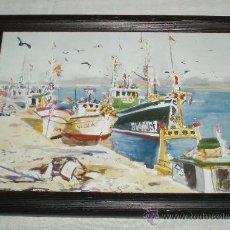 Varios objetos de Arte: MARINA ENMARCADA. Lote 36371489