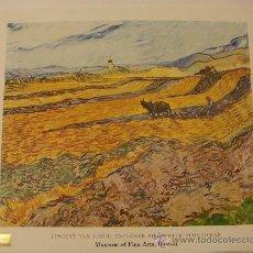 Varios objetos de Arte: POSTER DE VAN GOGH . Lote 36601513