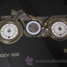 Varios objetos de Arte: MOTO PUCH 500 V 1933 REALIZADA CON PIEZAS DE RELOJ. B. LEBNER.. Lote 36632228