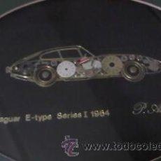 Varios objetos de Arte: JAGUAR E-TYPE SERIES I 1964 REALIZADO CON PIEZAS DE RELOJ. P AMMON.. Lote 36632310