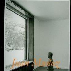 Varios objetos de Arte: JUAN MUÑOZ - 1991 - FOTOGRAFIA DE LA EXPOSICIÓN . Lote 36639561