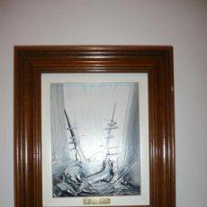 Varios objetos de Arte: CUADRO PINTURA ABSTRACTA. Lote 36702819