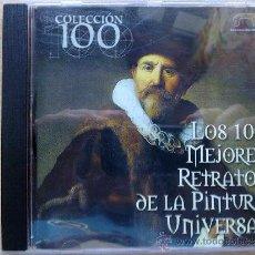 Varios objetos de Arte: LOS 100 MEJORES RETRATOS DE LA PINTURA UNIVERSAL - PC. Lote 37122653