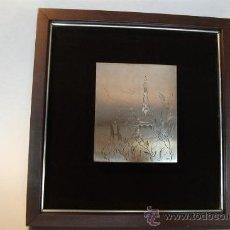 Varios objetos de Arte: JORDI SAMSÓ BASTARDAS 1929 - 2008 (BARCELONA) PARQUE GÚELL, PLATA FIRMADA. Lote 39049877