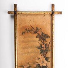 Varios objetos de Arte: CUADRO ENMARCADO - TEMA FLORAL. Lote 39411812