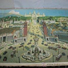 Varios objetos de Arte: TAPIZ EXPOSICION INTERNACIONAL DE BARCELONA AÑO 1929. Lote 39501989