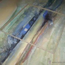 Varios objetos de Arte: PINTURA MODERNA ABSTRACTA, CON FIRMA.. Lote 39722326