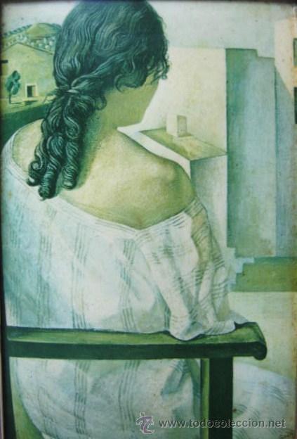 Varios objetos de Arte: Salvador Dali - esmalte sobre metal - enmarcado - Foto 3 - 39809890