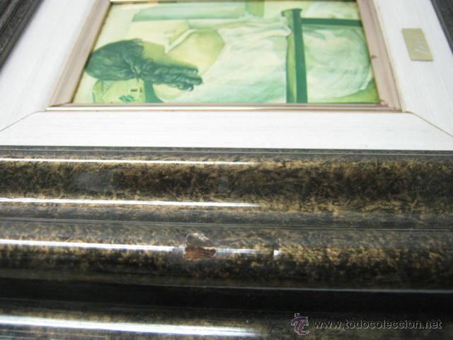 Varios objetos de Arte: Salvador Dali - esmalte sobre metal - enmarcado - Foto 4 - 39809890