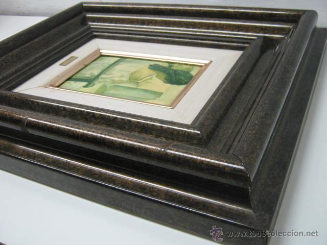 Varios objetos de Arte: Salvador Dali - esmalte sobre metal - enmarcado - Foto 5 - 39809890