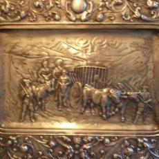 Varios objetos de Arte: BAJORRELIEVE, DON QUIJOTE DE LA MANCHA. Lote 39993319
