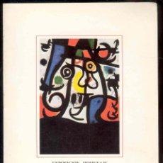 Varios objetos de Arte: FOLLETO EXPOSICION-HOMENAJE - MIRO - CAJA DE AHORROS DE ASTURIAS - GIJON 1983. Lote 40239208