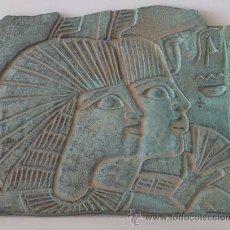 Varios objetos de Arte: BAJORRELIEVE DE BRONCE DE MUJERES EGIPCIAS. Lote 40322899