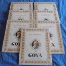 Varios objetos de Arte: OBRAS DE GOYA, POR ANTONIO DE HORNA. Lote 40399243