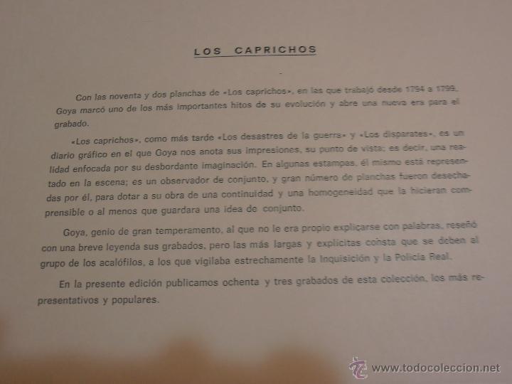 Varios objetos de Arte: Los Caprichos- - Foto 6 - 40399243